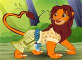 Игра Король лев: стиль для Симбы