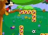 Игра Садовые шалости Микки Мауса