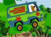 Игра Скуби Ду: гонка на фургоне