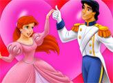 Игра Золушка и принц: пазл