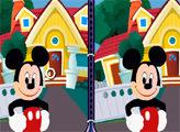 Игра Картинки и отличия: Микки и Кот Феликс