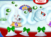 Игра Микки Маус - Гонки на санях