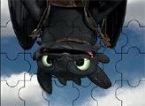 Игра Как приручить дракона: Черная Фурия Пазл