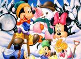 Игра Семья Микки Мауса - пропавшие цифры