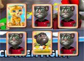Игра Говоряший Том и парные карточки