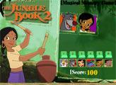 Игра Книга Джунглей: нажимаем цифры