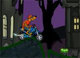 Игра Скуби Ду: могоциклист