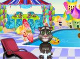 Игра Малыш Том в бассейне