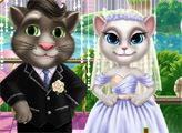 Игра Свадебный поцелуй Тома и Анжелы