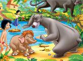 Игра Книга Джунглей: пазлы 4