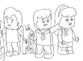 Игра Скуби Ду: детская раскраска