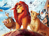 Игра Король Лев: пазлы