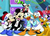 Игра Внимательность: Новогодние картинки с Микки