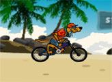Игра Скуби-Ду: пляжный BMX