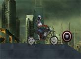 Игра Капитан Америка: Мотокросс