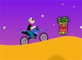 Игра Моряк Попай - Мотогонщик