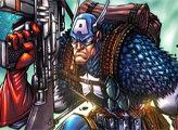 Игра Капитан Америка: Плитко-пазл