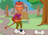 Игра Grampa Grumble Golf