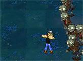 Игра Моряк Попай и нашествие Зомби