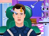 Игра Капитан Америка: Осмотр Окулиста