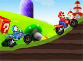 Игра Мотодуэль - Дораэмона и Марио