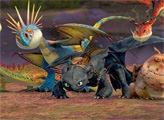Игра Как приручить дракона 2: пазлы