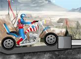 Игра Капитан Америка и Харлей