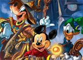 Игра Плиточный пазл: Микки, Гуфи и Дональд