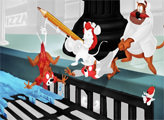 Игра Чип и Дейл спешат на помощь раскраски