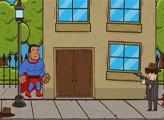 Игра Супермен против гангстеров