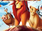Игра Король лев: найди кусочки