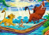 Игра Король лев: пазл Акуна Матата