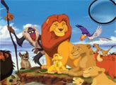 Игра Король лев: скрытые буквы
