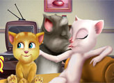Игра Поцелуйчики Тома и Анджелы
