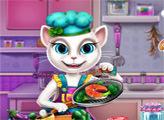 Игра Анджела - кулинар