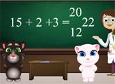 Игра Малыши Том и Анжела в школе