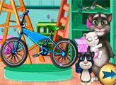 Игра Том и ремонт велосипеда