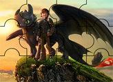 Игра Как приручить дракона: пазлы 7