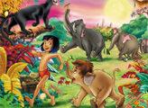 Игра Книга джунглей: найди предметы