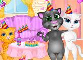 Игра Анжела и Джинджер - День рождения сюрприз