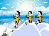 Игра Дораэмон - Ледяная дуэль