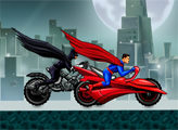 Игра Гонки героев: Бэтмен и Супермен