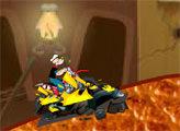 Игра Приключения Моряка Попайя на мотоцикле