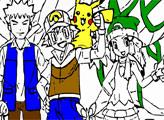 Игра Покемоны: раскраска