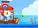 Игра Покемоны: морской бой