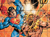 Игра Супермен: разложи картинку