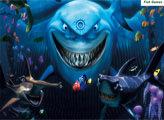 Игра В поисках Немо: найди рыбок