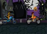 Игра Скуби Ду: мотогонка
