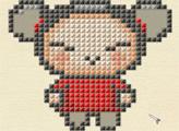 Игра Вышиваем крестиком - Пукка