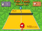 Игра Финес и Ферб: Настольный теннис
